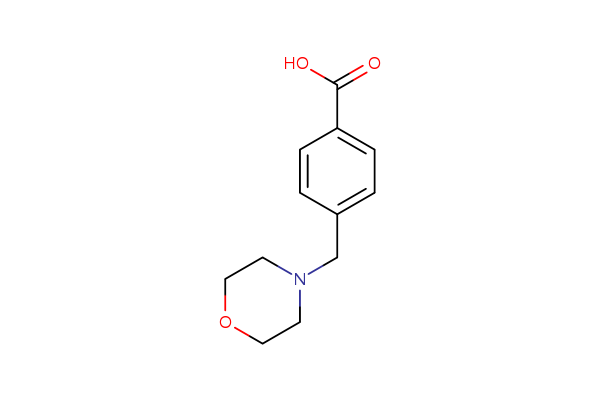 4-Morpholin-4-ylmethylbenzoic acid
